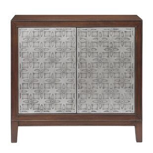 Aldovin 2 Door Accent Cabinet by Bungalow Rose