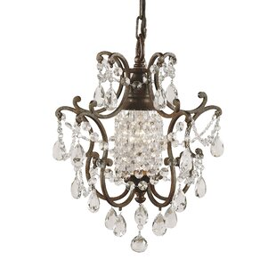 Astoria Grand Drumavoley 1-Light Mini Foyer Pendant