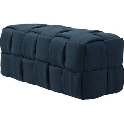 Brayden Studio Sullivan Street Upholstered Bench Upholstery Color: Orange
