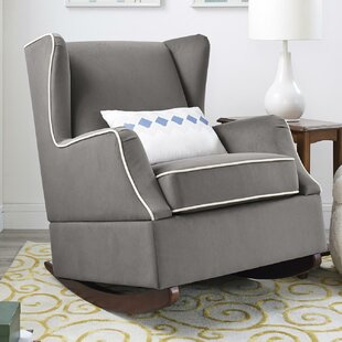 Hudson Wingback Rocker by Baby Relax Best #1