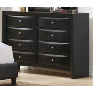 Teemo 8 Drawer Dresser by A&J Homes Studio
