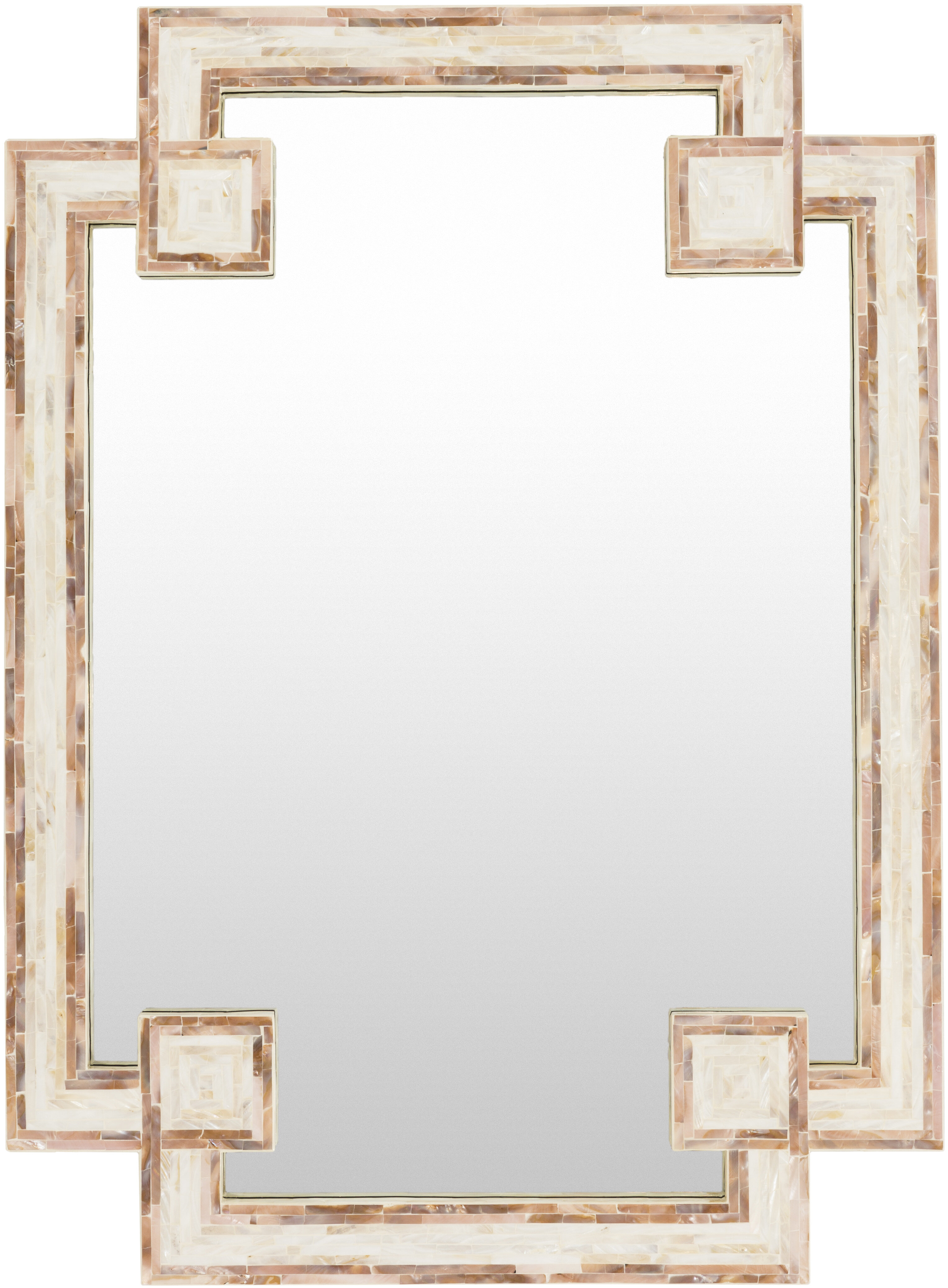 Surya Traditional Beveled Accent Mirror Reviews Perigold