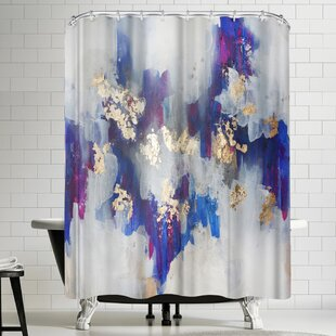 Christine Olmstead Golden Road Single Shower Curtain
