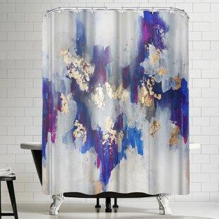Christine Olmstead Golden Road Single Shower Curtain