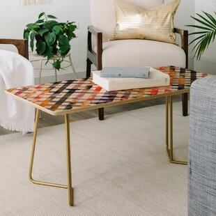 Ninola Design Summer Gingham Coffee Table by East Urban Home