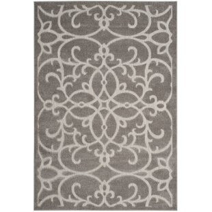 Bryan Gray/Light Gray Indoor/Outdoor Area Rug