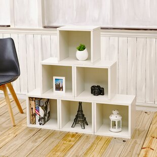 Daniell Stackable Organizer Cube Unit Bookcase (Set of 6) Mercury Row