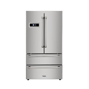 20.85 cu. ft. Counter Depth French Door Refrigerator by Thor Kitchen