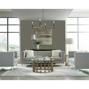 Orren Ellis Huitt 3 Piece Living Room Set