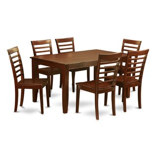 Dudley 7 Piece Dining Set by Wooden Importers Reviews