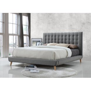 Bannan Upholstered Bed Frame By Mikado Living