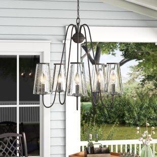 Neece 5-Light Outdoor Chandelier by Laurel Foundry Modern Farmhouse