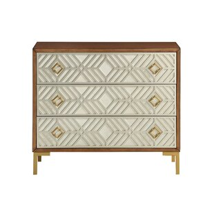 Lake Macquarie 3 Drawer Accent Chest by Mercer41