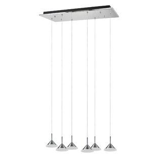 6-Light Pendant by Aspen Creative Corporation