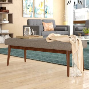 Kathryn Upholstered Bench by Modern Rustic Interiors