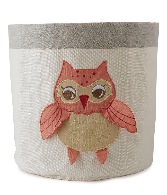 Superior Baby Owls Toy Storage Bin