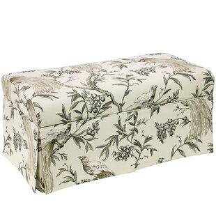 Gracie Oaks Beenu Wood Storage Bench