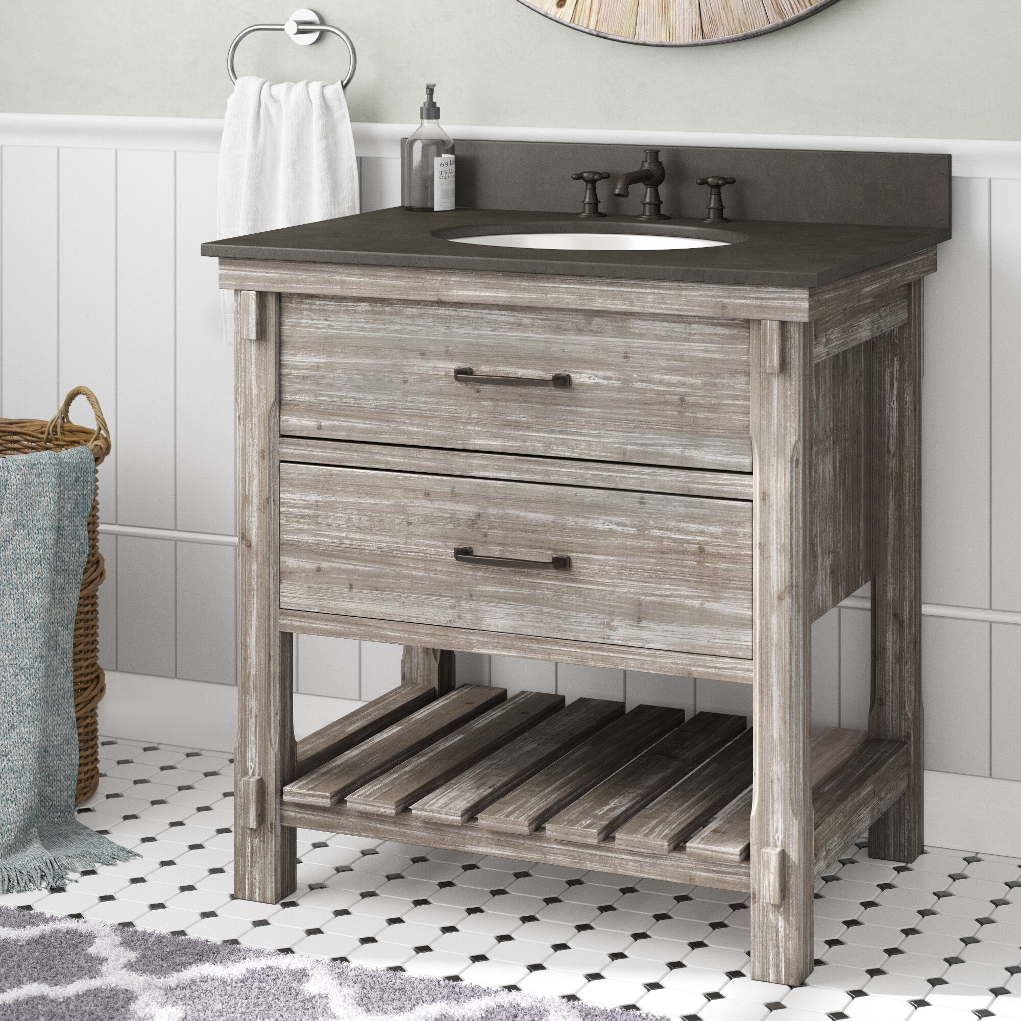 30 Inch Modern Farmhouse Bathroom Vanities You Ll Love In 2021 Wayfair
