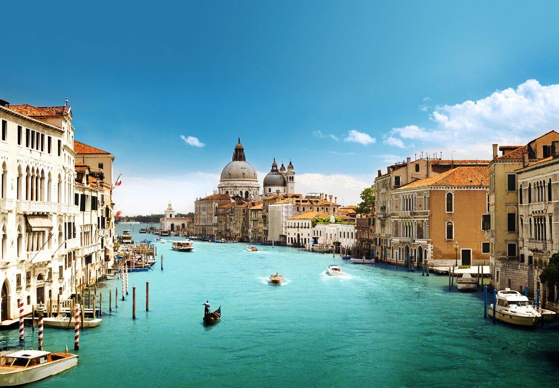 Ideal Decor Grand Canal Venice Wall Mural Part 85