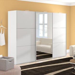 Kierra 3 Door Wardrobe By Metro Lane