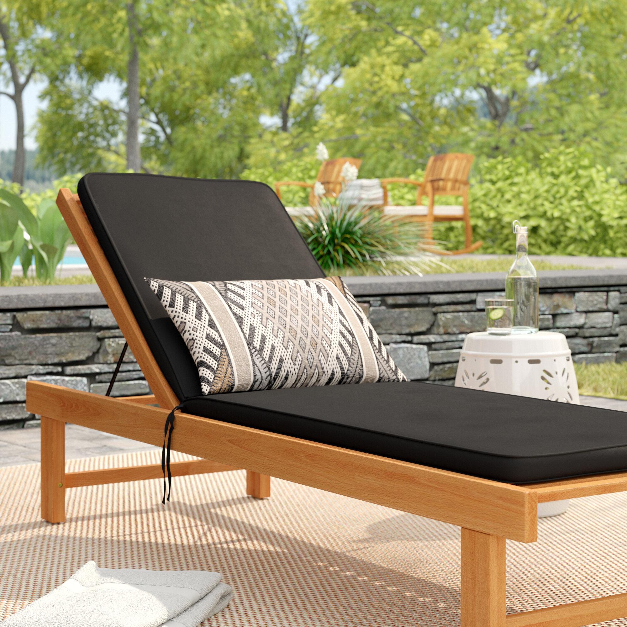 Beachcrest Home Indoor Outdoor Sunbrella Chaise Lounge Cushion Wayfair
