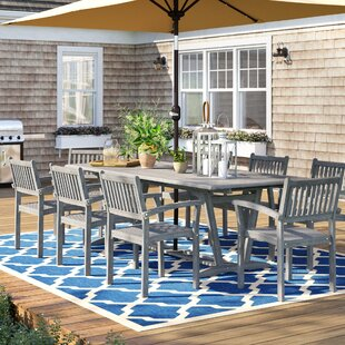 Matoury 9 Piece Dining Set by Sol 72 Outdoor