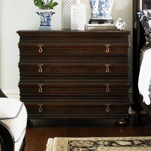 Tommy Bahama Home Royal Kahala 4 Drawer Sands Dresser