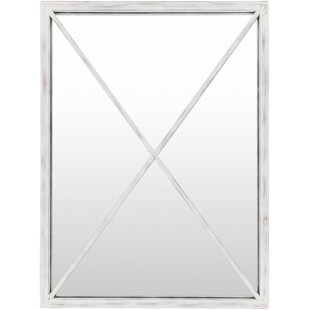 Laurel Foundry Modern Farmhouse Rectangle Vertical Handmade Accent Mirror