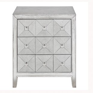 Emberto 3 Drawer Chest by House of Hampton