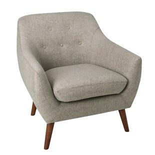 George Oliver Vigil Tufted Armchair