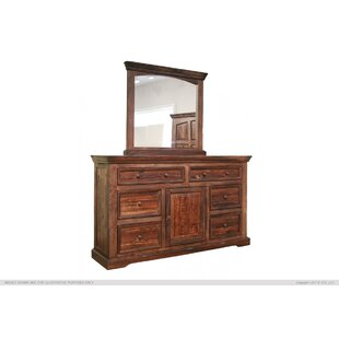 Artisan Home Furniture 6 Drawer Combo dresser
