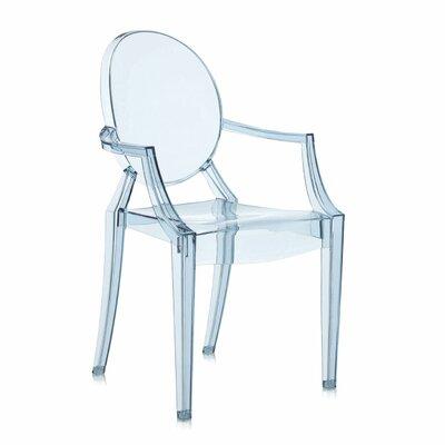 Taburete Kartell Philippe Stark.Kartell Lou Lou Ghost Kids Chair Finish Blue