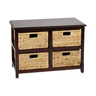 Best Reviews Kyoko 4 Drawer Storage Chest ByBeachcrest Home