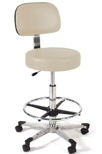 Height Adjustable Lab Stool With Single Lever Release by Intensa Wonderful