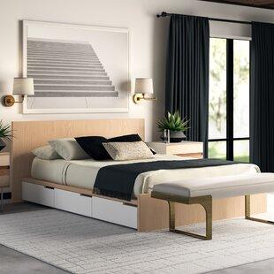 Modu-Licious Upholstered Storage Platform Bed by Blu Dot