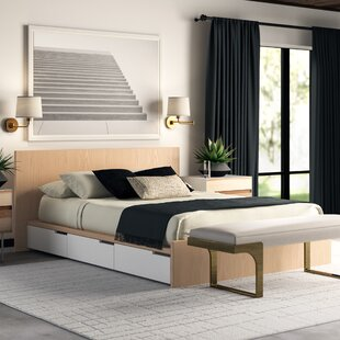 Great Price Modu-Licious Upholstered Storage Platform Bed by Blu Dot Reviews (2019) & Buyer's Guide