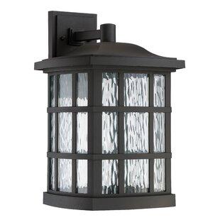 Best Reviews Riverside Drive 1-Light Outdoor Wall Lantern By Brayden Studio