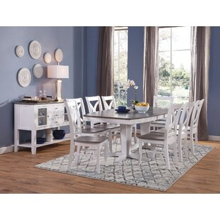 10 Piece Solid Wood Dining Set Sedgewick Industries