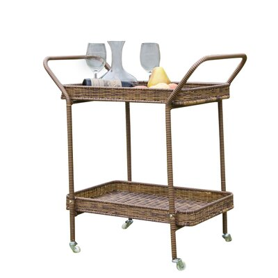 Petherton Bar Serving Cart by Beachcrest Home Savings