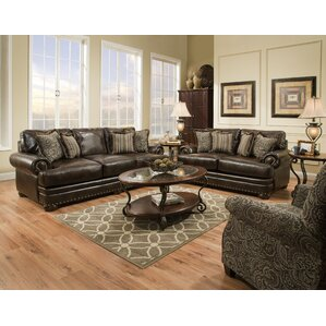 Grandeur Configurable Living Room Set by Brady Furniture Industries