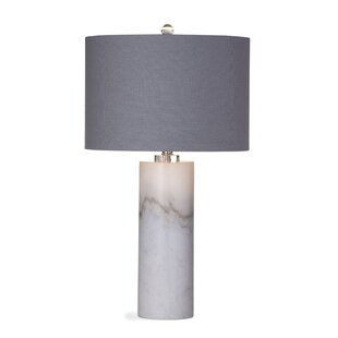 Modern contemporary contemporary table lamps allmodern merrin 28 table lamp mozeypictures Choice Image