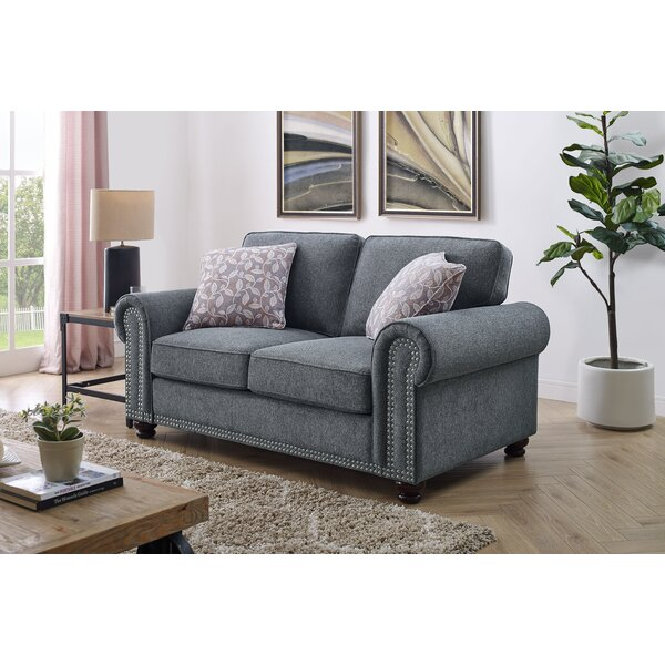 Phenomenal Curved Nailhead Trim Sofa Wayfair Beatyapartments Chair Design Images Beatyapartmentscom