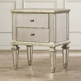 Edward 2 Drawer Chest by House of Hampton