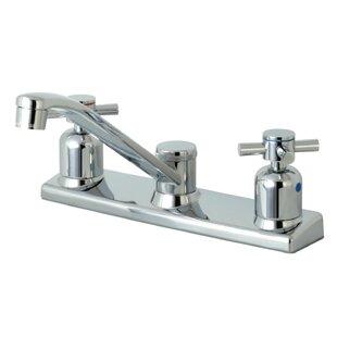 Kingston Brass Concord Centerset Double Handle Kitchen Faucet