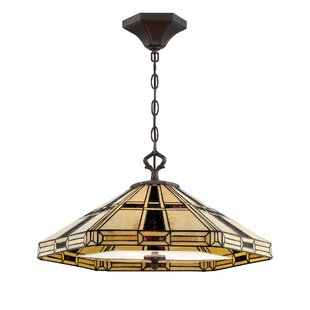 Gilreath 3-Light Single Dome Pendant by Astoria Grand