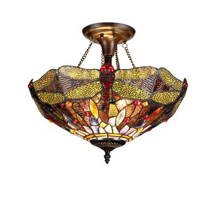 Marylhurst 2-Light Semi Flush Mount by Astoria Grand