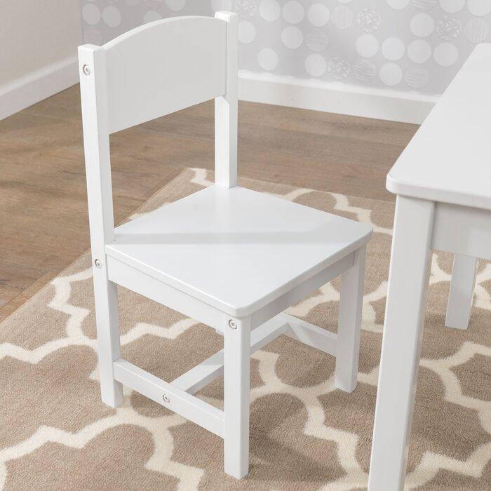 Terrific Aspen Kids 3 Piece Writing Table And Chair Set Machost Co Dining Chair Design Ideas Machostcouk