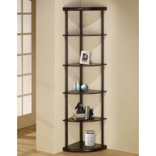 Ebern Designs Manzo Corner Unit Bookcase