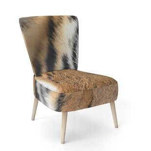 Bengal Tiger Eyes Side Chair