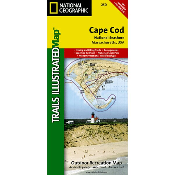 Outdoor Recreational Map Cape Cod